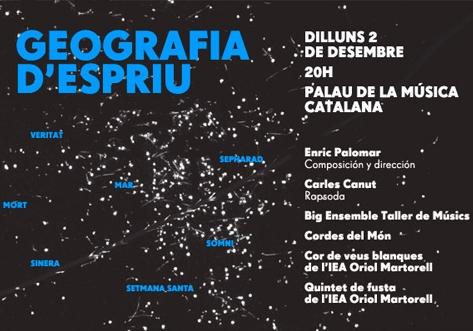 Cordes del Món a la culminació de l'any Espriu al Palau de la Música Catalana