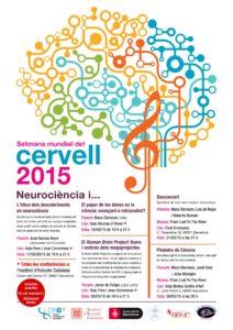 Setmana Mundial del Cervell 2015